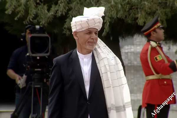 گارد تشریفاتی غنی در عید
