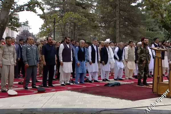 نماز عید قربان در ارگ