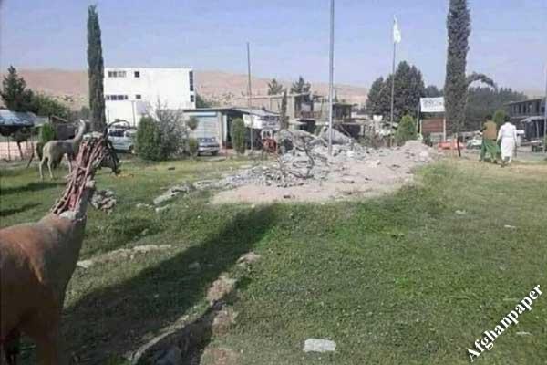 طالبان در بدخشان مجسمهها