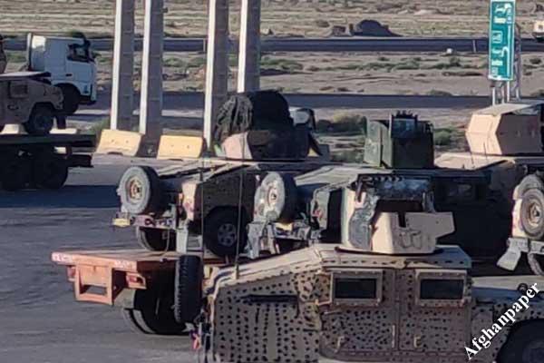 تانک های افغانستان در ایران