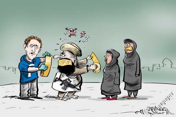 کاریکاتور افغانستان-طالبان آمریکا